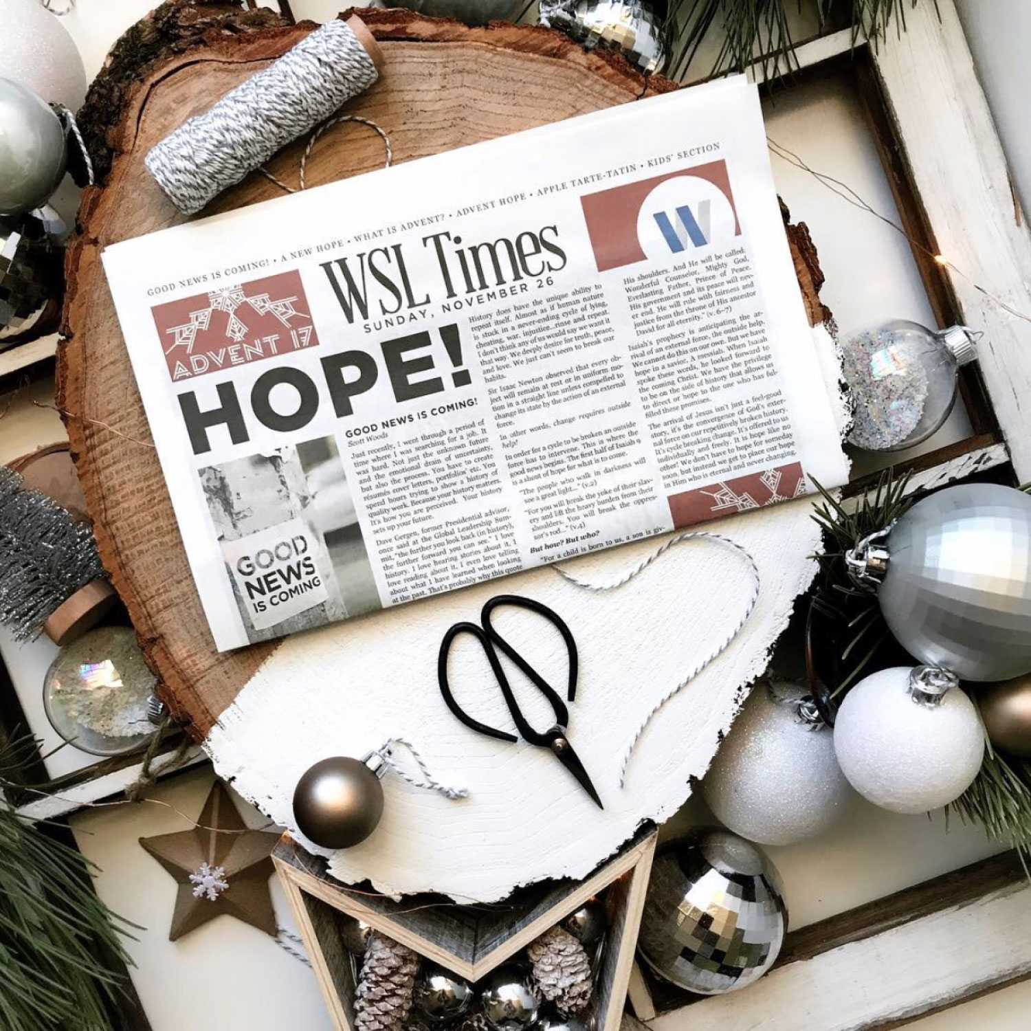 Advent Newspaper